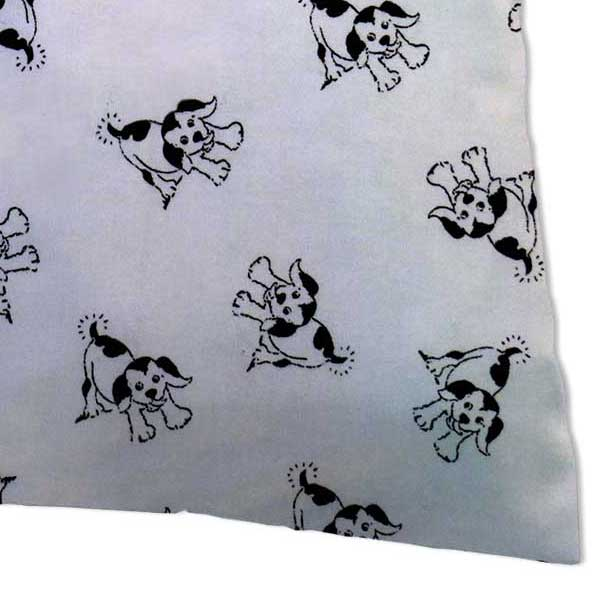 Percale Pillow Case - Doggies