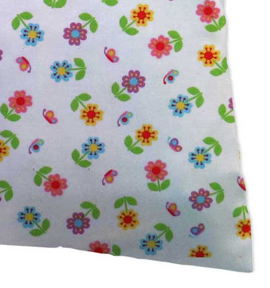 Twin Pillow Case - Colorful Roses
