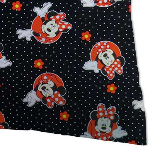 Percale Pillow Case - Minnie Mouse Dots