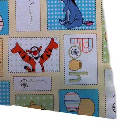 Percale Pillow Case - Winnie The Pooh Patch