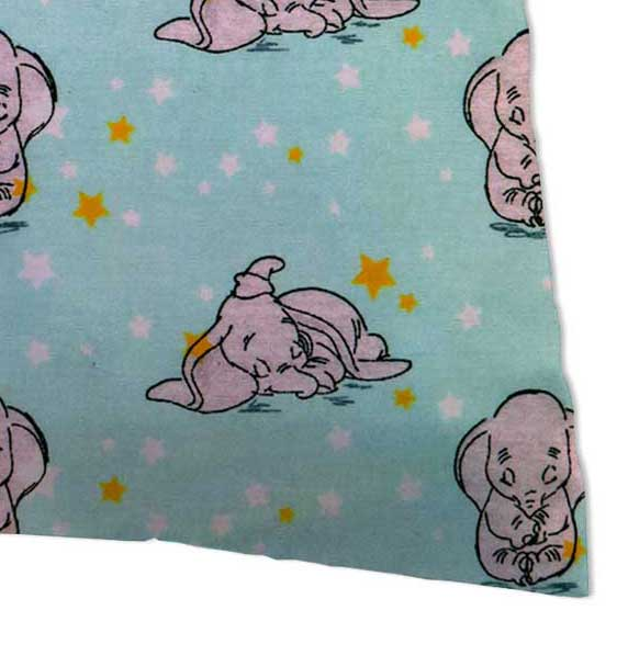 Percale Pillow Case - Dumbo Aqua