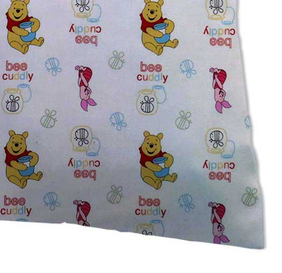 Percale Pillow Case - Pooh Bee Cuddly