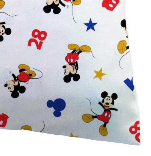 Percale Pillow Case - Oh Boy Mickey Mouse