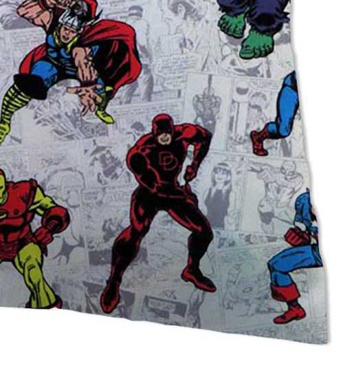 Percale Pillow Case - Marvel Comics