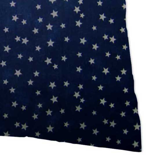 Percale Pillow Cases - Cloudy Stars Navy