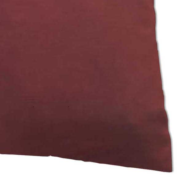 Percale Pillow Case - Solid Burgundy Woven