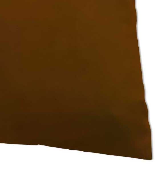 Percale Pillow Case - Solid Rust Woven