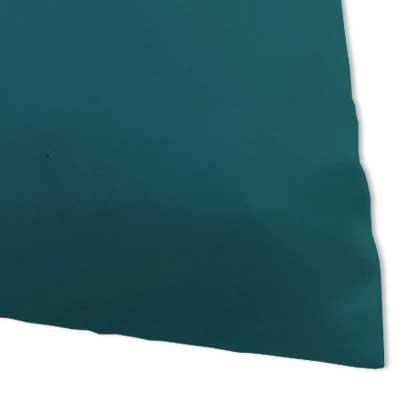 Percale Pillow Case - Solid Teal Woven