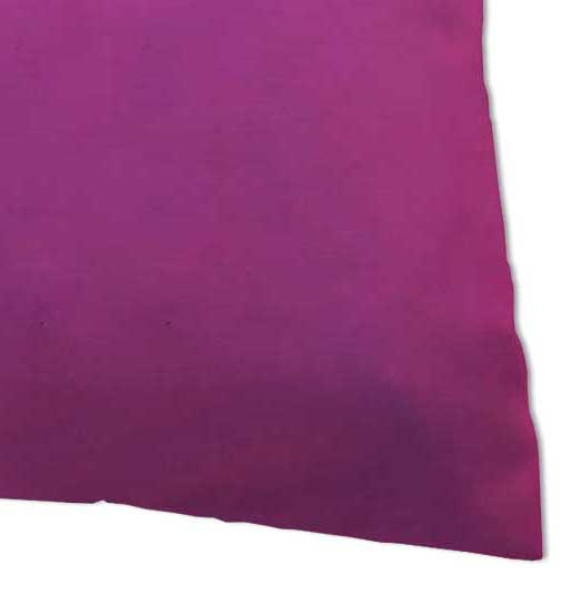Percale Pillow Case - Solid Hot Pink Woven