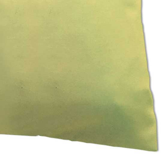 Percale Pillow Case - Solid Yellow Woven