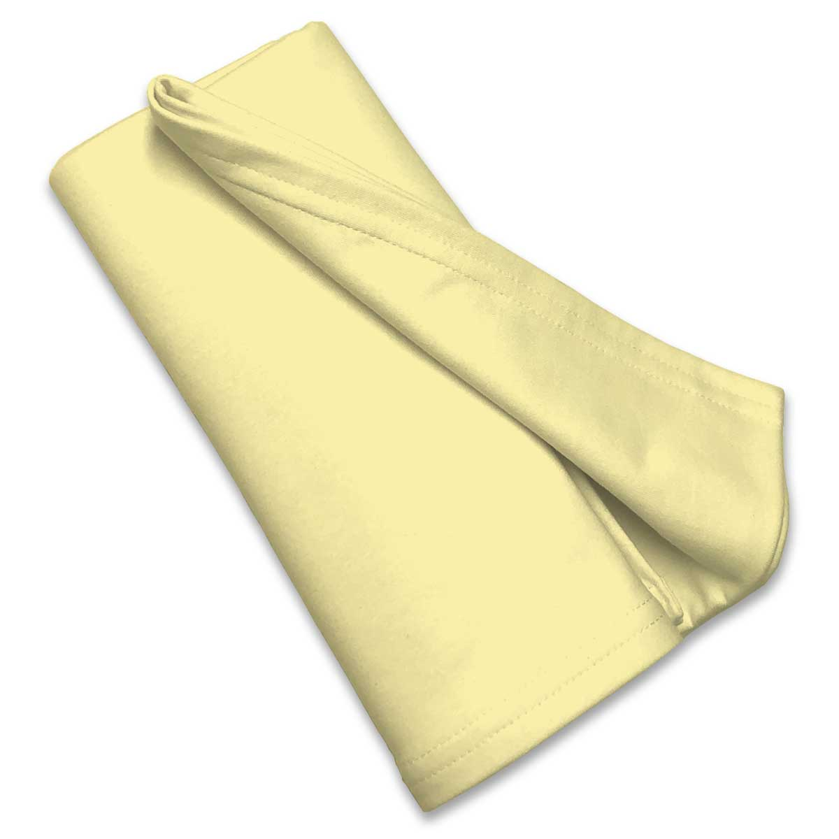 Pale Yellow Receiving Blanket