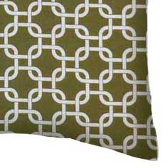 Percale Pillow Case - Sage Links