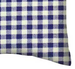 Percale Pillow Case - Purple Gingham Check