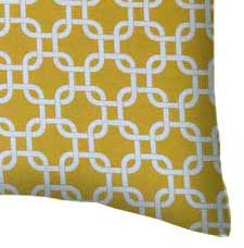 Percale Pillow Case - Mustard Yellow Links