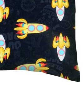 Percale Pillow Case - Outer Space