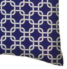 Percale Pillow Case - Purple Links