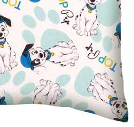 Percale Pillow Case - 101 Dalmations