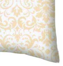 Percale Pillow Case - Cream Damask