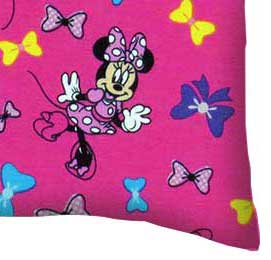 Baby Pillow Case - Minnie Mouse Bows