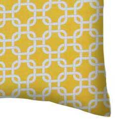 Lemon Yellow Links Portable Mini Crib Sheets Sheetworld
