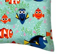Percale Pillow Case - Finding Dory